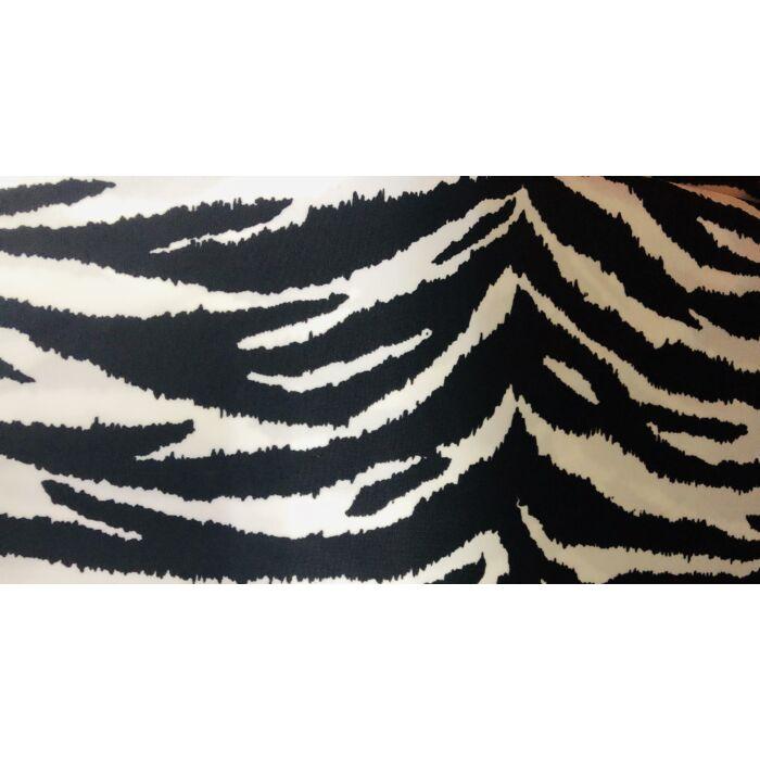 Zebra mintás fürdőruha anyag