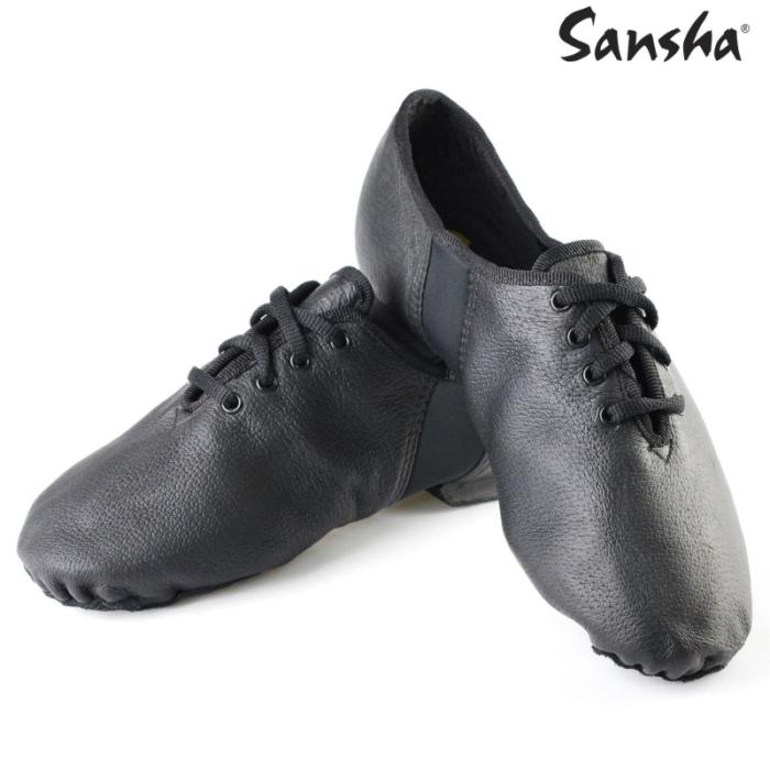 Sansha Bőr Jazz cipő
