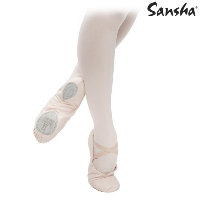 Sansha Vászon Gyakorló cipő - Balettcipő