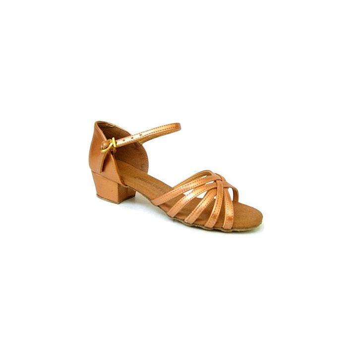 Nyalókavirág kislány latin cipő