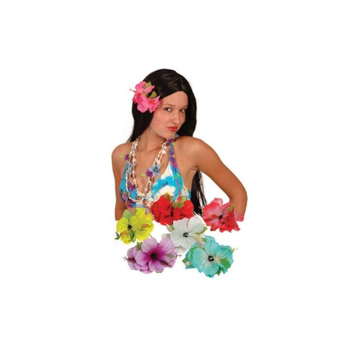 Virágos hawaii hajcsat