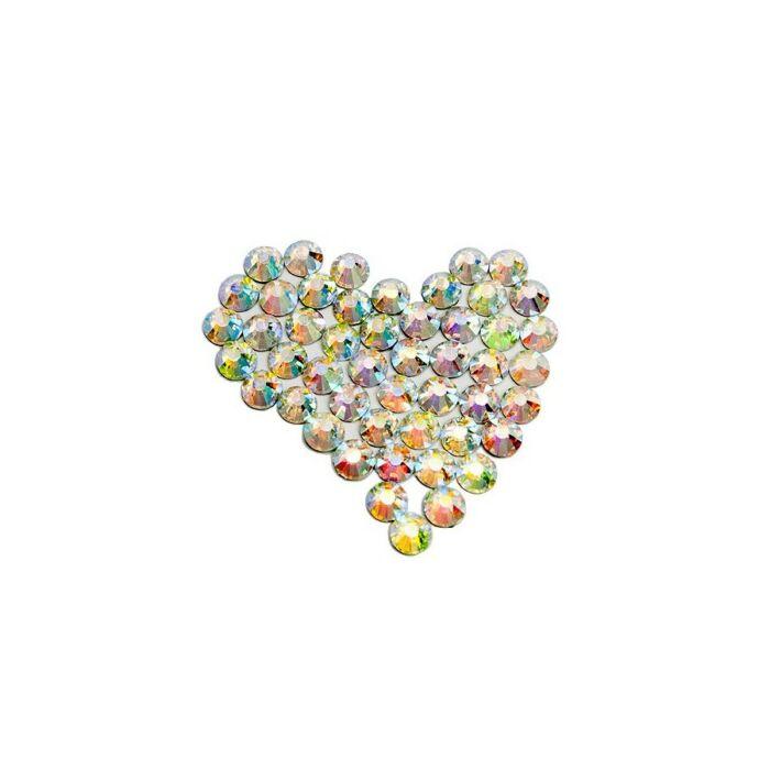 Max Brilliance ragasztható crystal AB ss20