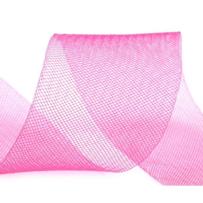 Lószőr szalag, ruha merevítő,  puha 4,5 cm
