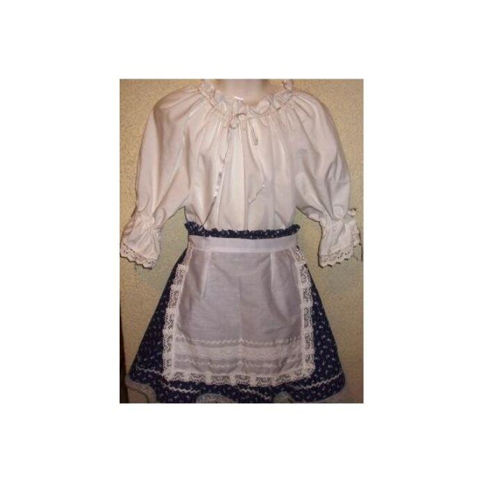 Magyaros kislány ruha