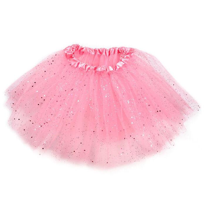 Táncos kislány szoknya nagyobb csillámokkal