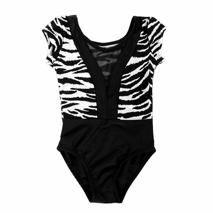 Zebra mintás táncos dressz